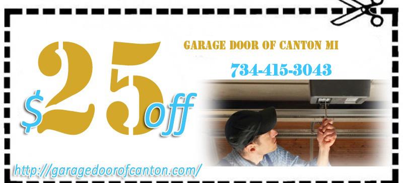 Garage Door Of Canton Spring Repair